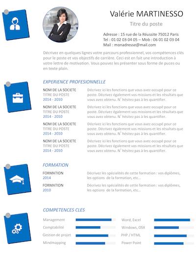 exemple de cv  u00e0 t u00e9l u00e9charger  gratuit  en 3 clics    pdf  word  office